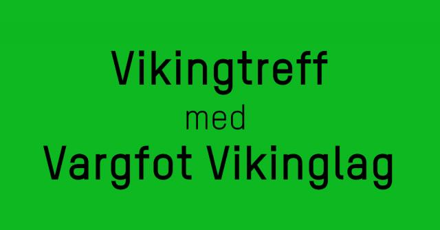 detailed look 8c8fa 9eb5d Vikingtreff  Vargfot Vikinglag, 5. mai