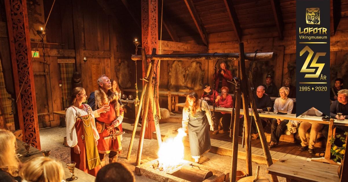 Vikinggilde-jubilemstilbud-2020 foto Kjell Ove Storvik/Lofotr Vikingmuseum